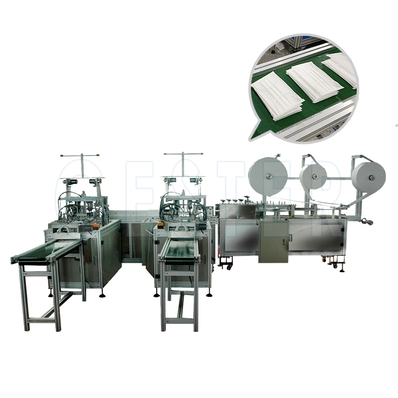 Automatic Disposable Surgical Medical Face Mask Making Machine MKM-10