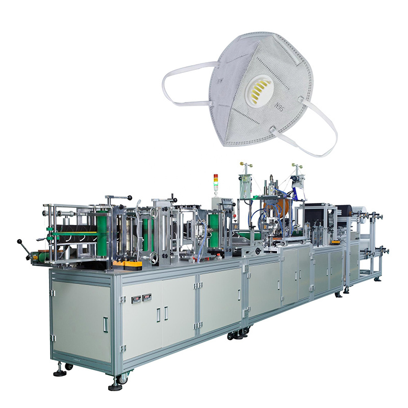 Fully Automatic N95 Non Woven Face Mask Making Machine MKM-12