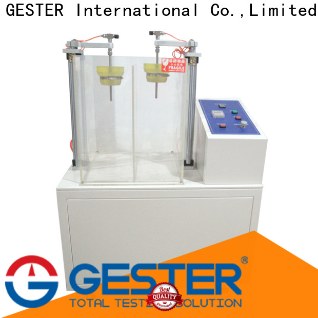 GESTER electronic shoe material test equipment supplier for she
