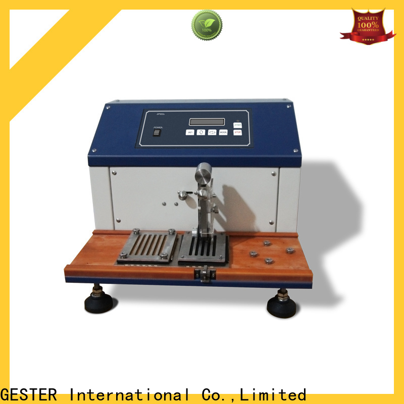 GESTER Shoe Upper Cutting Tester price list for laboratory