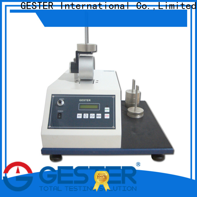 GESTER customized Hook and Loop Tape Tester for sale for laboratory