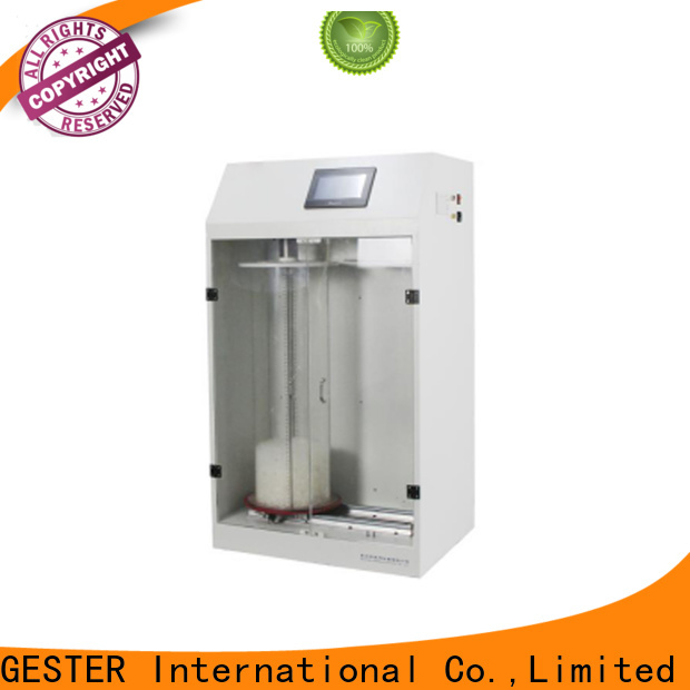 GESTER hydraulic bursting strength tester supplier for textile