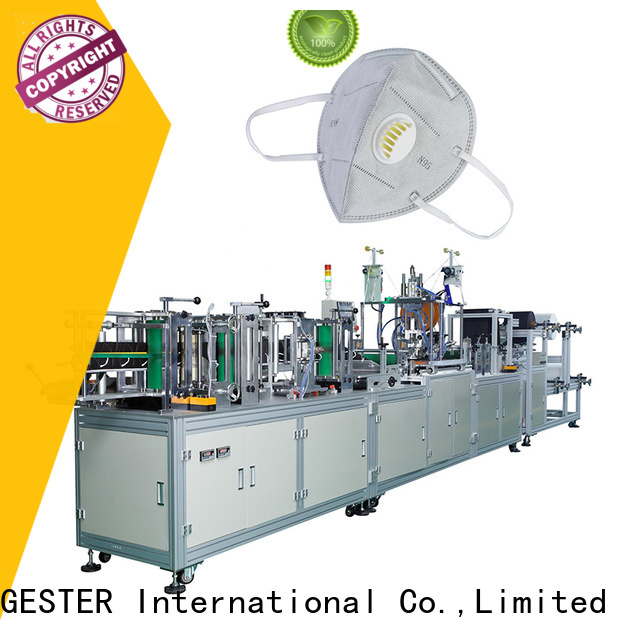 GESTER surgical face mask machine supplier for outdoor