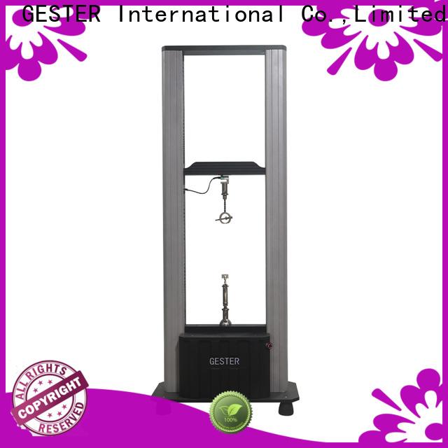 GESTER hydrostatic zipper testing machine price for lab