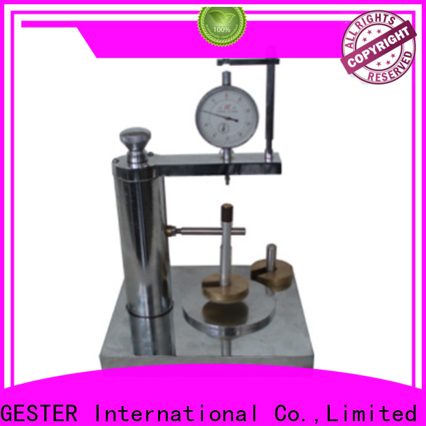 GESTER air permeability tester supplier for laboratory