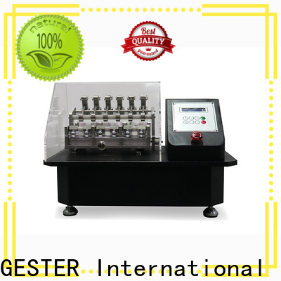 GESTER specific Textile Testing Equipment standard for laboratory