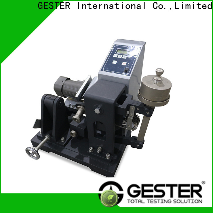 GESTER rubber testing machines suppliers standard for footwear