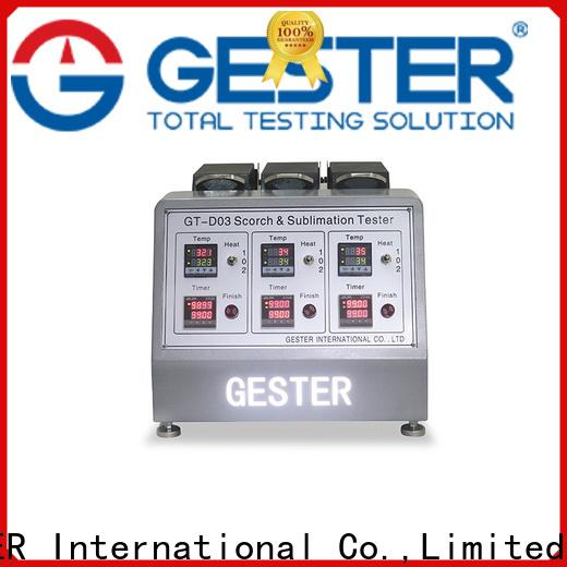 GESTER universal martindale pilling tester manufacturer for footwear