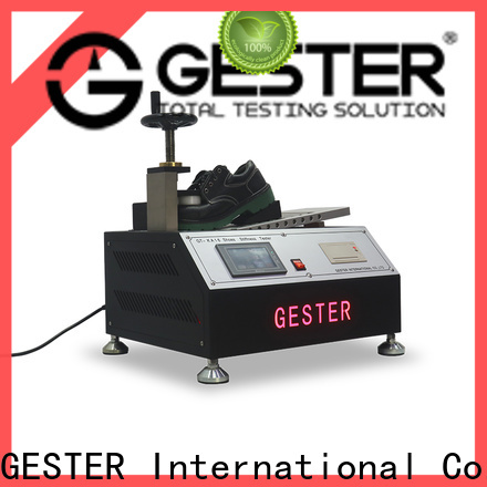 GESTER electronic bally leather flexing tester for sale for shoe material