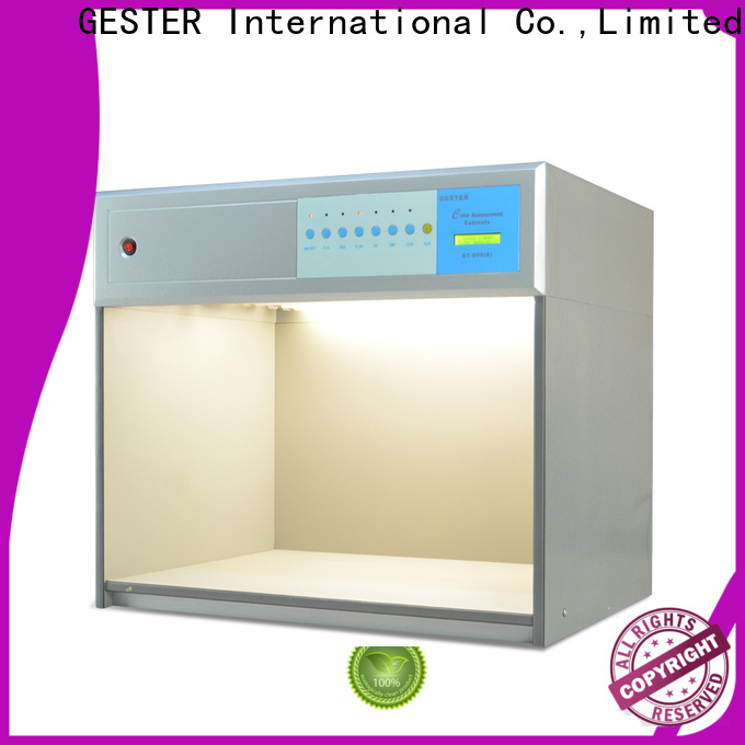 GESTER Instruments xenon arc testing procedure for footwear