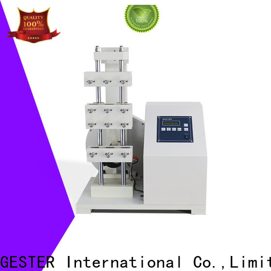 GESTER Instruments ultrasonic thickness testing equipment procedure for footwear