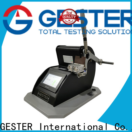 GESTER Instruments hydraulic opacity scale standard for test