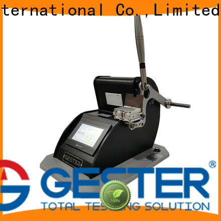 GESTER Instruments customized astm d3787 supplier for fabric