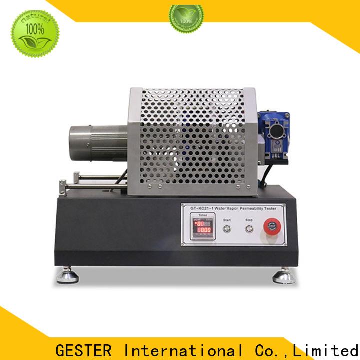 GESTER Instruments rubber saltspray test manufacturer for leather