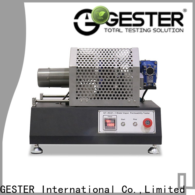 GESTER Instruments universal oxygen permeability procedure for shoe
