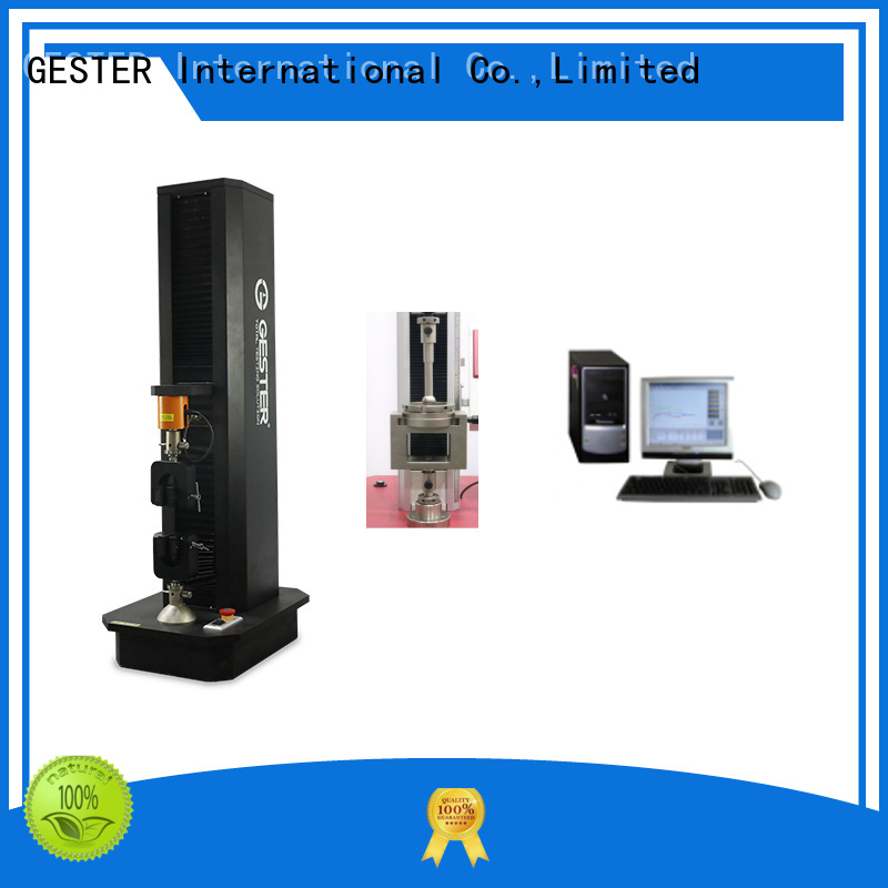 GESTER hydraulic elmendorf tear tester procedure for test