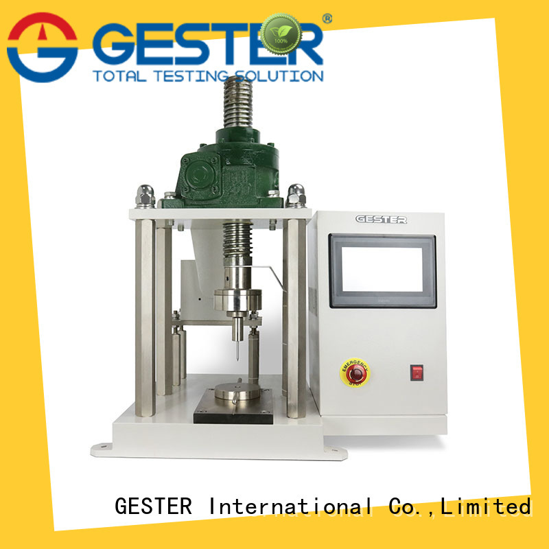GESTER computerized universal testing machine manufacturer for textile
