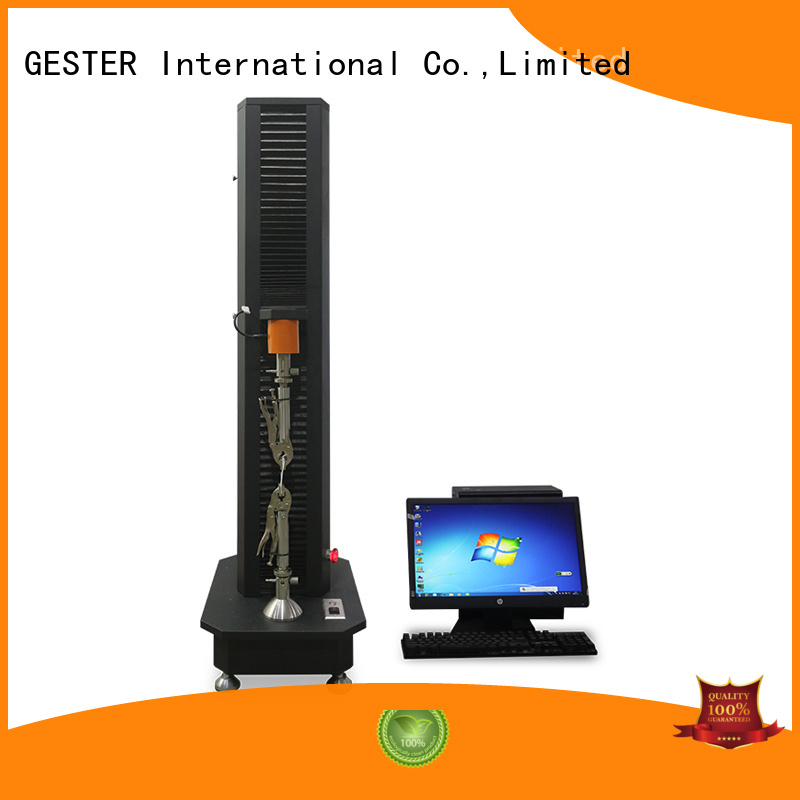 GESTER universal tensile testing machine price for footwear