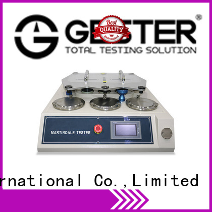 GESTER rubber martindale rub test standards for fabric