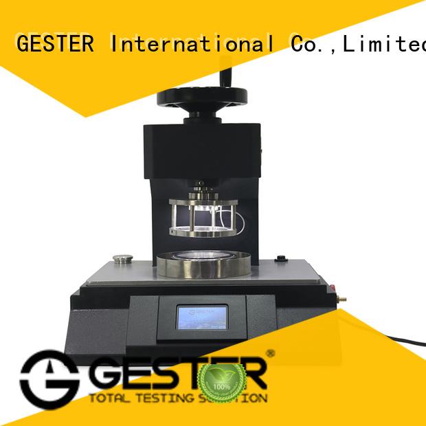 High Precision air permeability testing machine for sale for lab