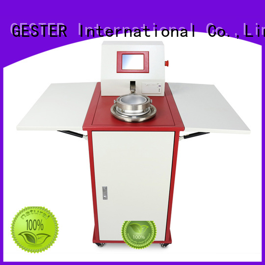 steel digital air permeability tester for sale for test