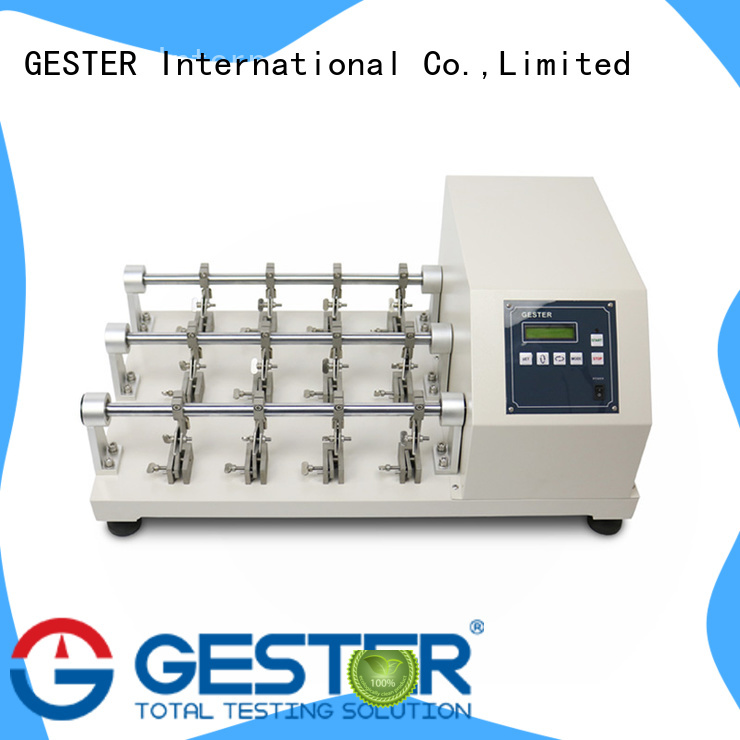GESTER high precision shoe upper cutting tester manufacturer for lab