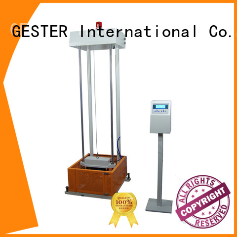 GESTER universal footwear testing equipments procedure for test