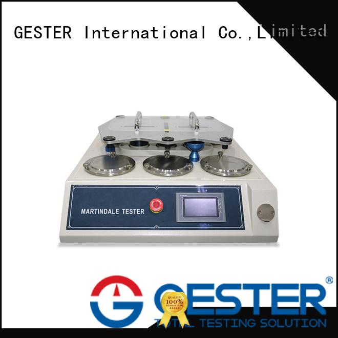 GESTER EN 388 Martindale Abrasion Tester standard for shoe
