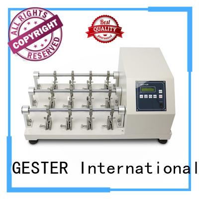 GESTER dual EN 344 Martindale Abrasion Tester manufacturer for lab