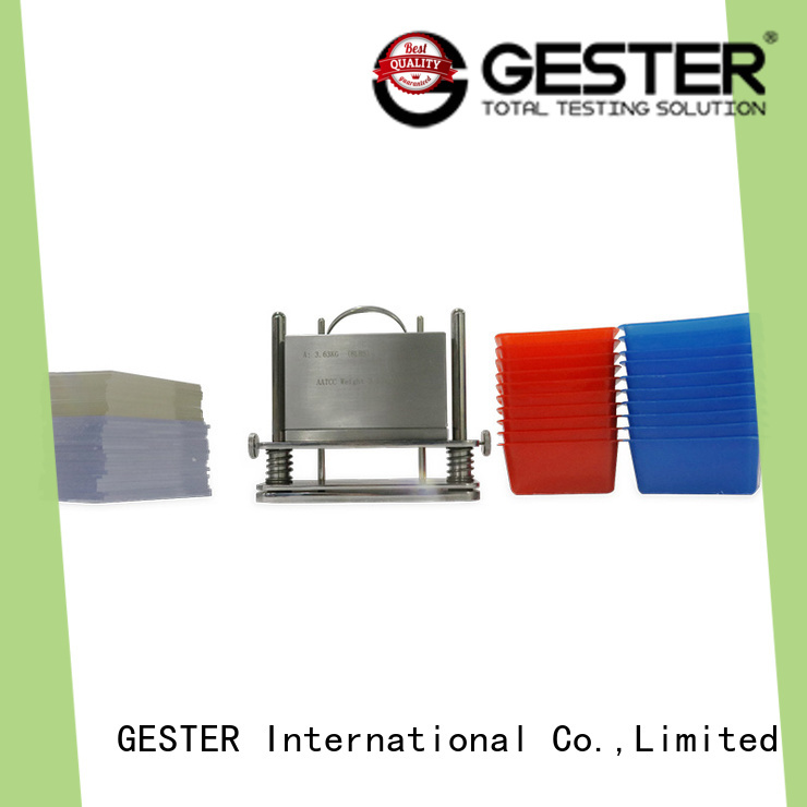 GESTER ozone test chamber supplier for fabric