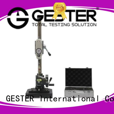 GESTER tensile testing machine calibration procedure wholesale for test