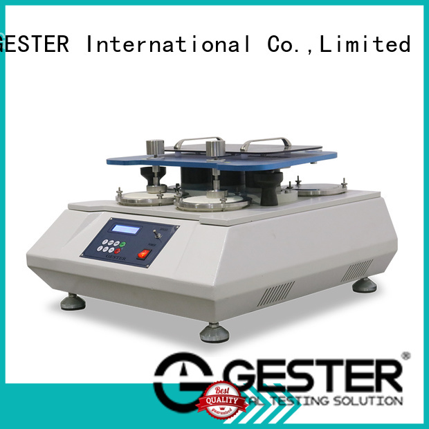 GESTER abrasion testing machine price standards for fabric