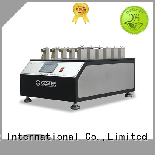 GESTER customized Shoelace testing machine standard for shoes