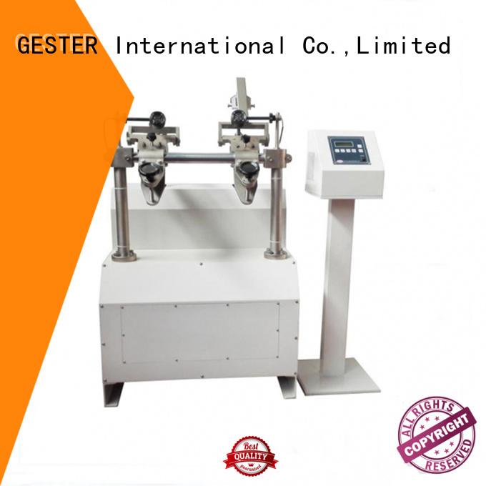 GESTER footwear testing equipments procedure for test