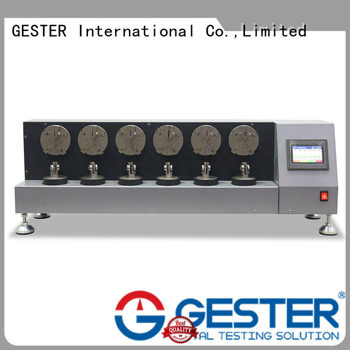 GESTER dual whole shoe flexing machine manufacturer for lab