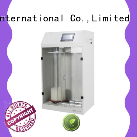 GESTER High Precision air permeability tester supplier for laboratory