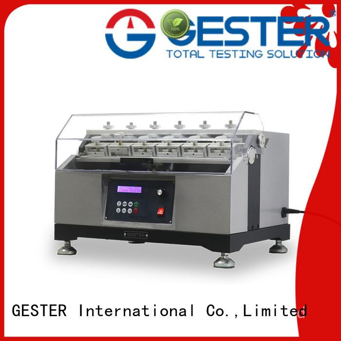 GESTER footwear testing equipments procedure for footwear