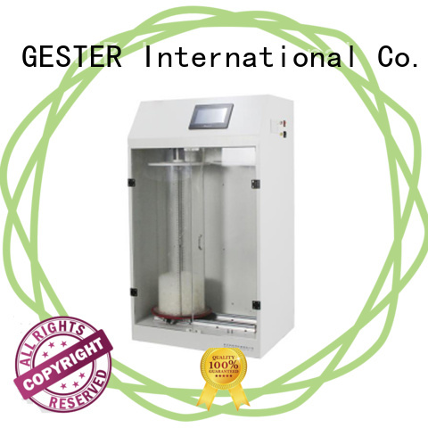 GESTER specific Feather and Down Tester procedure for textile