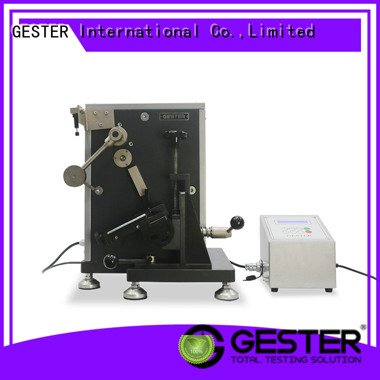 GESTER safety shoes impact tester supplier for footwear