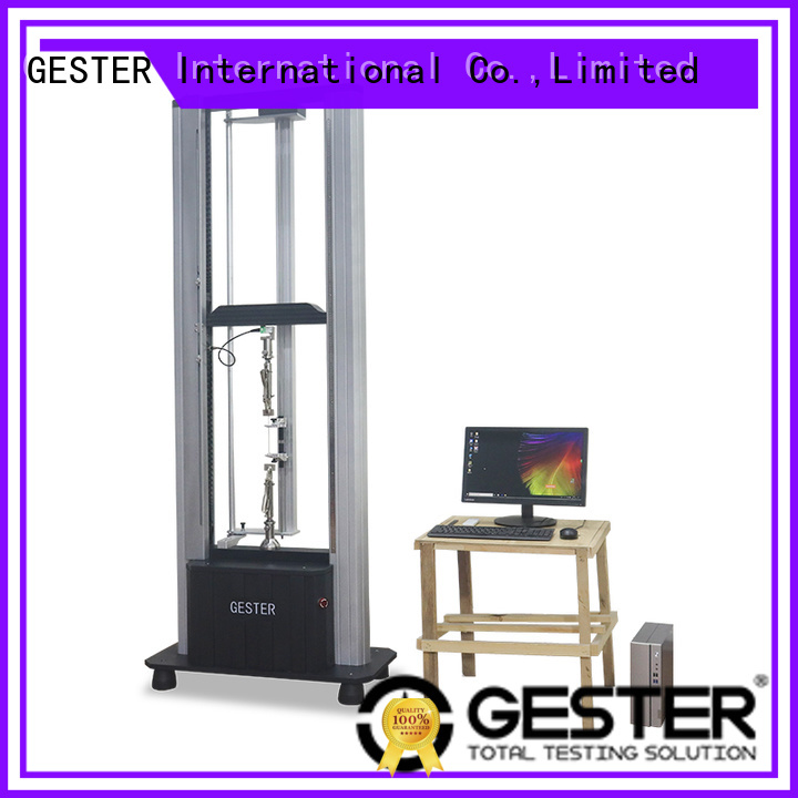 GESTER rubber Leather Testing machine supplier for test