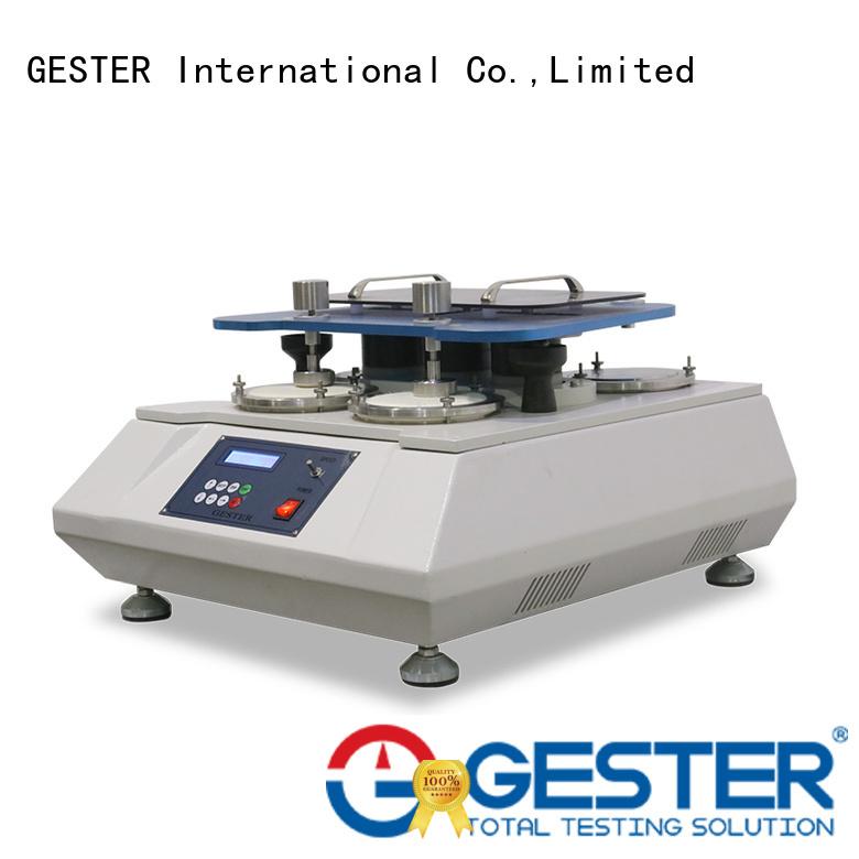GESTER universal footwear testing equipment supplier for footwear