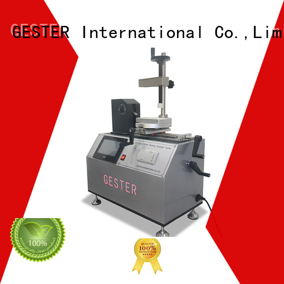 GESTER customized shoe sole testing procedure for lab