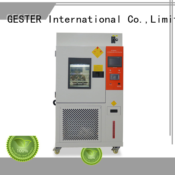 GESTER computerized universal testing machine supplier for fabric