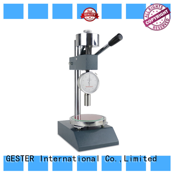 GESTER specific leather thickness gauge price for lab