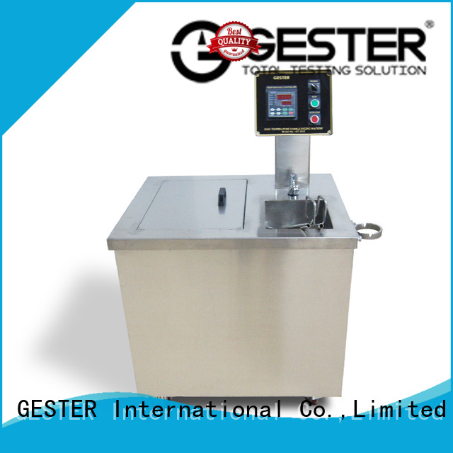 GESTER high precision laboratory fabric dyeing machine price for footwear
