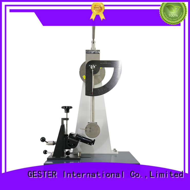Customized shoe material test equipment supplier for footwear