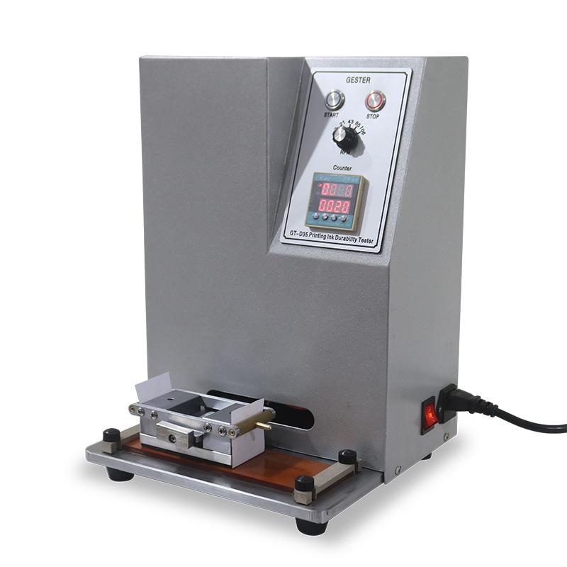 Printing ink discoloration abrasion tester GT-D35
