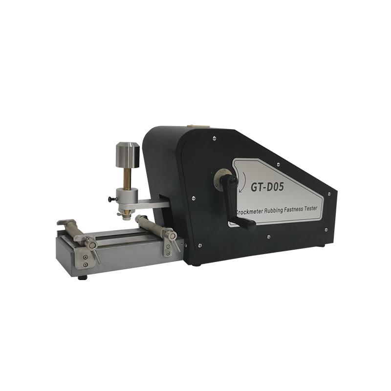 Manual Crock Meter Dry Wet rubbing fastness Tester GT-D05