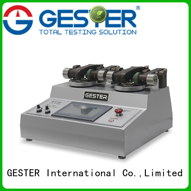 high precision abrasion testing machine price supplier for fabric