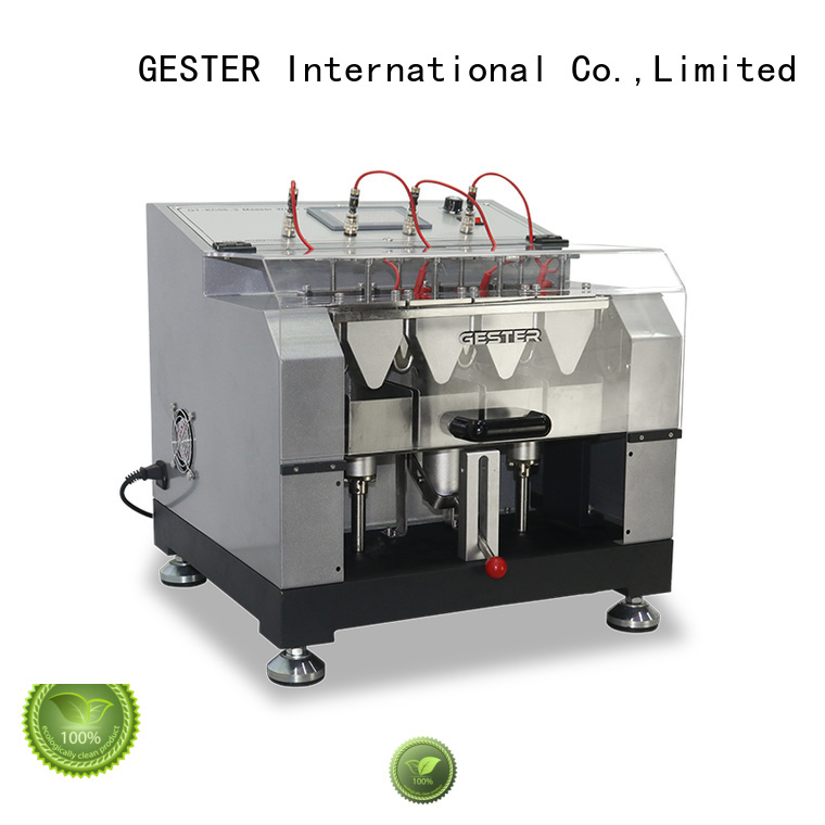 GESTER rubber ASTM Footwear Testing Machine for sale for footwear